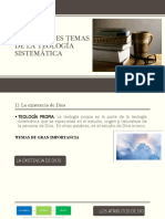DIAPOSITIVAS LOS GRANBDES TEMAS DE LA TEOLOGIA