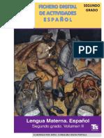 FICHERO DIGITAL ESPAÑOL SEGUNDO GRADO