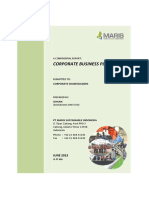 Corporate Business Plan (PT MSI)