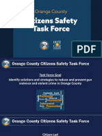 Citizen's Safety Task Force presentation