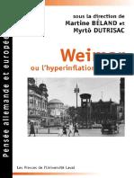 Martine Beland, Myrto Dutrisac - Weimar, ou, L'hyperinflation du sens _ portraits et exil.pdf