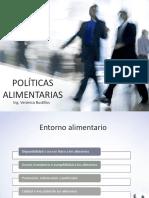 5. Políticas alimentarias