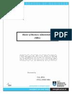 Negotiation Assignment