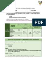 EJEMPLO ACTIVIDAD DE FORMACIÓN BÁSICA TERCER SEMESTRE PRIMER CORTE
