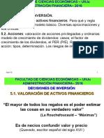 UNIDAD 5-VALUACION ACT FINAN-ACCIONES
