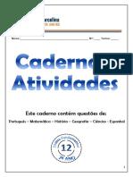 CAderno de Atividades - Multidisciplinar