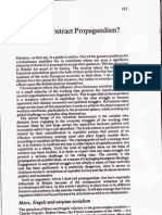 Callinicos Abstract Propagandism 1981