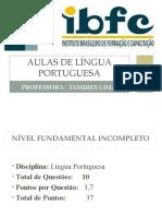 IBFC 2 PPT COM QUESTÕES DE PROVA