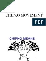 CHIPKO MOVEMENT FINAL