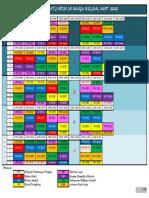Contoh Jadual Waktu Induk Penjajaran Kurikulum 2020