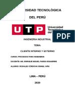 Cliente Interno y externo - Ismael Rosales