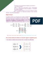 Las matrices .docx