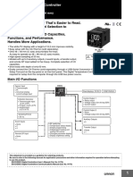 Digital Temperature Controller E5CC Datasheet