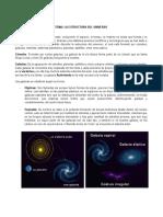 La estructura del universo - grado 6 y 7