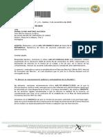 Oficio Dirigido a Juridica de La Alcaldia