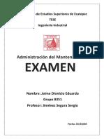 Examen Administración