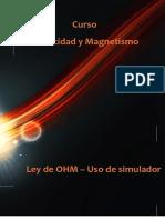 Laboratorio virtual_Ley de OHM - uso de simulador1 20 oct