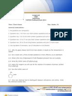 TopperPreboard_2011_CBSE_XII_Chemistry_QuestionPaper
