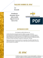 Análisis sobre IFAC