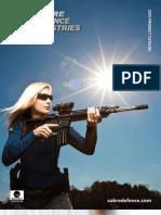 2010 Sabre Defence Catalog