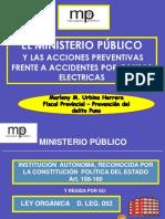 08. Ministerio Publico y las acciones preventivas frente a accidentes por causaa electricas - Dra Marleny Urbuna