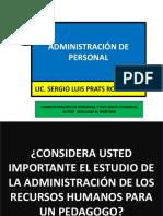 PPP ADMINISTRACION DE PERSONAL