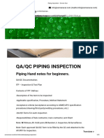 Piping Inspection - Osman Acar