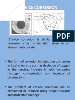 CREVICE CORROSION lecture3