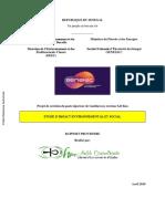 Etude d Impact Environnemental Et Social Pour Creation Du Poste Injecteur de Guediawaye Environ 5 43 Km