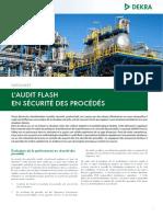 Dekra Process Safety Datasheet Audit Flash en Securite Des Procedes