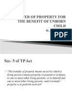Transfer for the Benefit of Unborn Child (Sec.13) (1)