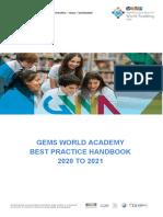 gwa best practice handbook 2020 21