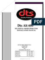 DTS_600_GDO_Installation_Manual