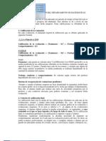 CRITERIOS DE EVALUACIÓN DEL DEPARTAMENTO DE MATEMÁTICAS