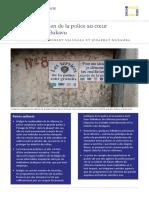 Placer le quotidien de la police au cœur de la réforme à Bukavu par Michel Thill, Robert Njangala et Josaphat Musamba - RVI Polisi Siku Kwa Siku Briefing (2018)