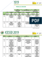 PARALLEL-SESSION ICESSD 2019