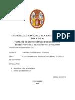 BARRIOS CERRADOS CIUDAD DE 15 MIN  - INFORME