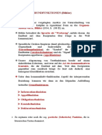1. Textuelle Grundfunktionen nach Bühler