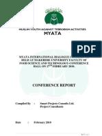 MYATA International Dialogue - Conference Report