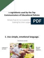 5 Essential Habits of the Top Communicators Of