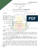 Bail Order Madras HC October 29