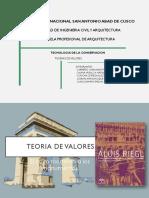 TEORIA DE VALORES t