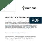 Illumnus LXP_ a New Way of E-learning