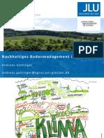Nachhaltiges Bodenmanagement im Ökolandbau