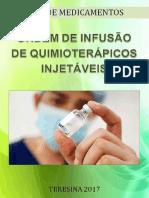 GUIA DE MEDICAMENTOS ORDEM DE INFUSÃO DE QUIMIOTERÁPICOS