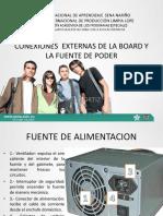 4. CONEXIONES  EXTERNAS DE LA BOARD