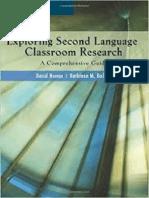 Exploring Second Language Classroom Research.pdf