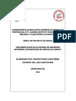 PERFIL DE PROYECTO OFICIAL