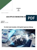 2020 Applied Engineering Challenge