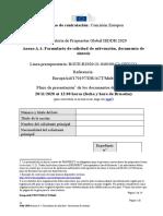 Anexo a.1 - Formulario de Solicitud - Documento de Síntesis